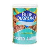 Blue Diamond Honey Roasted Kacang Almond 130 Gr Terbaru