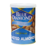 Jual Blue Diamond Salted Roasted Kacang Almond 130 Gr Murah