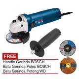 Toko Bosch Gws 060 Handle Mesin Gerinda 4 Batu Gerinda Potong Poles Lengkap Di Jawa Barat