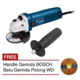 Bosch Gws 060 Handle Mesin Gerinda 4 Batu Gerinda Potong Wd Original