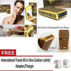 Toko Boteng Rechargeable Mini Travel Shaver Alat Cukur Elekronik International All In One Colokan Listrik Online Terpercaya
