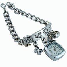 Bracelet Pendant Watch Silver Bracelet Diskon
