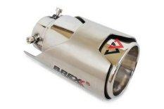 Brexx Masterpiece Tailpipe  Ultima 3.5 inch - MC SU-09 - Silver