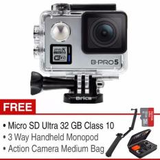 Penawaran Istimewa Brica Action Camera B Pro 5 Alpha Plus Adventure Pack Silver Terbaru