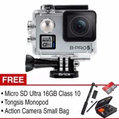 Brica Action Camera B-Pro 5 Alpha Plus Combo Pack