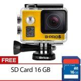 Harga Brica B Pro5 Alpha Edition Action Camera Wifi 12 Mp Kuning Gratis Sd Card 16Gb Brica Baru