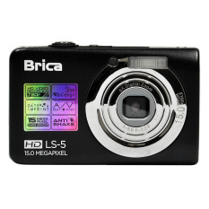 Spek Brica Ls 5 Digital Camera 15 Mp Hitam Brica