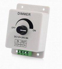 Review Toko Kecerahan Led Strip Lampu Dimmer Adjustable Control 12 24 V 8A Online