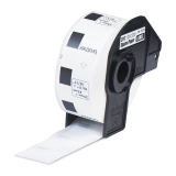 Review Toko Brother Label Tape Dk 11221 Square Paper Labels 23Mm X 23Mm Putih 1000 Labels