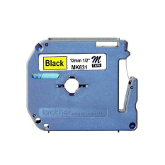 Review Brother Label Tape Mk 631 12Mm Hitam Kuning Brother