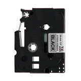 Toko Brother Label Tape Tze Sm961 Black On Silver 36Mm Hitam Termurah
