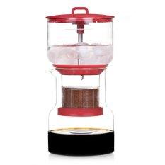 Bruer Slow Drip Cold Brew Coffee Maker - Merah