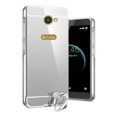 Bumper Mirror Sliding Case Infinix Zero 3 X552 - Silver