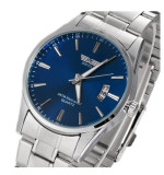 Review Business Style Stainless Steel Band Fashion Men Wrist Watch Oem