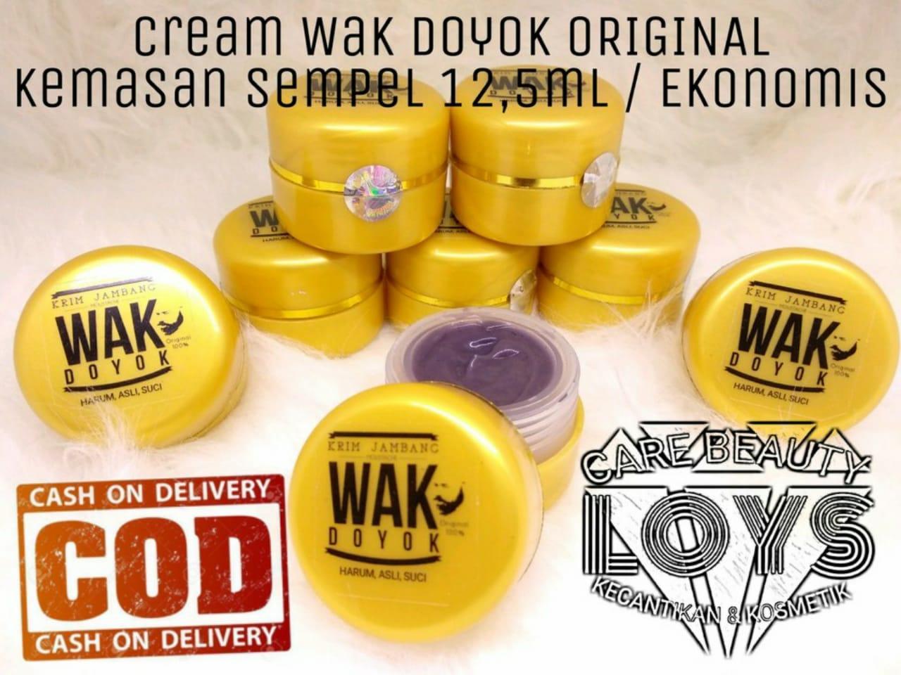 Wakdoyok Cream 12,5ml Original Hologram - Wakdoyok Krim Penumbuh Jambang & Rambut By Lcbeauty.