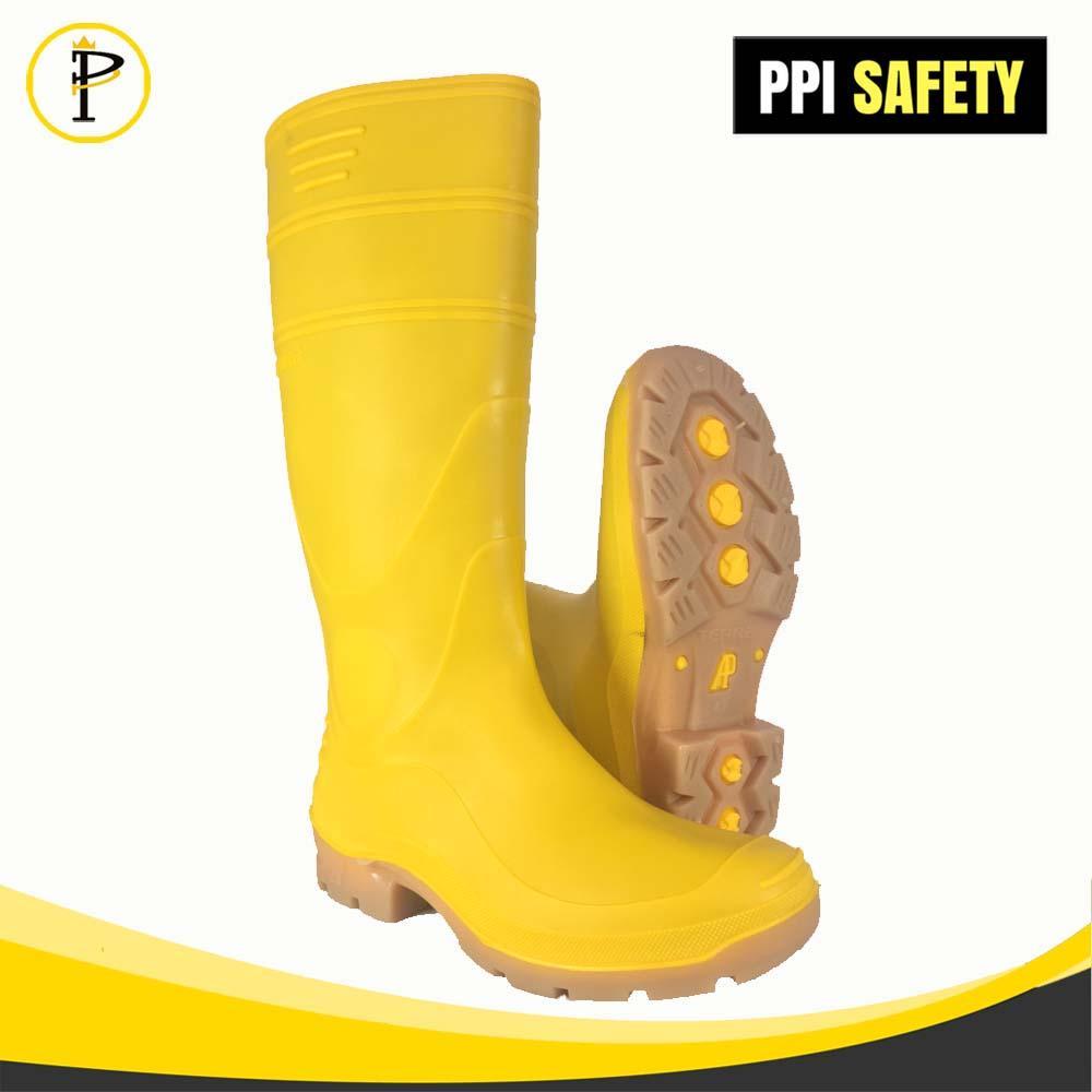 Sepatu Boots Merk AP Boots Terra Yellow / Terra Kuning