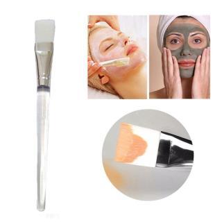 Kuas Masker Wajah Bening Putih - Kuas Masker Wajah Transparant Putih - Kuas untuk Masker Muka - 1 PCS thumbnail