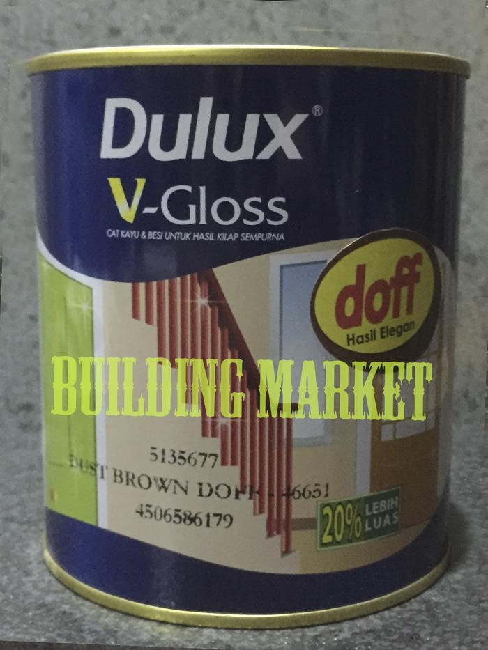 Promo - Cat Minyak Kayu Dan Besi Dulux Vdoff 1 Kg - ready stock