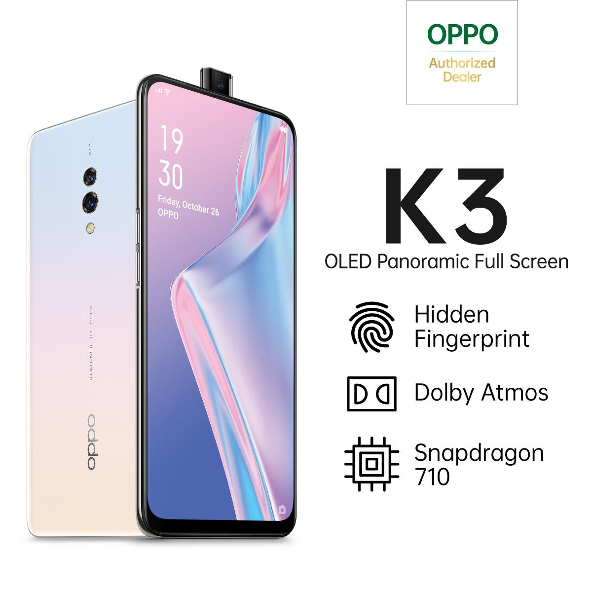 OPPO K3 Special Online Edition 6/64GB OLED Panoramic Screen, Cashback hingga 400K