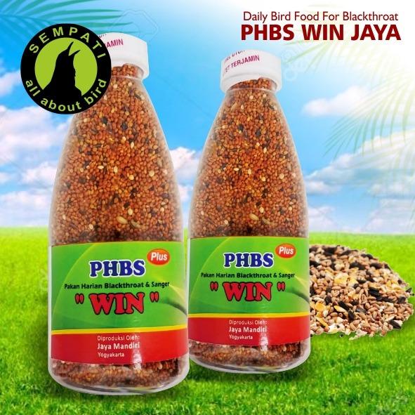 Phbs Plus Kemasan Botol Win Jaya Mandiri Pakan Harian Burung Blackthroat Sanger Phbspjm Lazada Indonesia