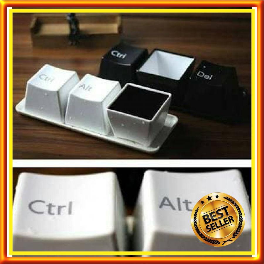 Gelas Minum Keyboard Komputer - Keyboard Cup Unik Murah - Gelas Mug Best Seller - AB36092