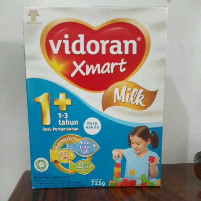 Vidoran Xmart 1+ Vanila/Madu 725gr