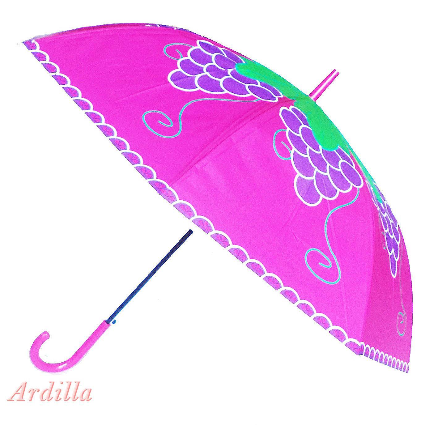 Ardilla Payung Besar Seri Buah / Payung Dewasa / Payung Motif Buah By Ardilla Shop.