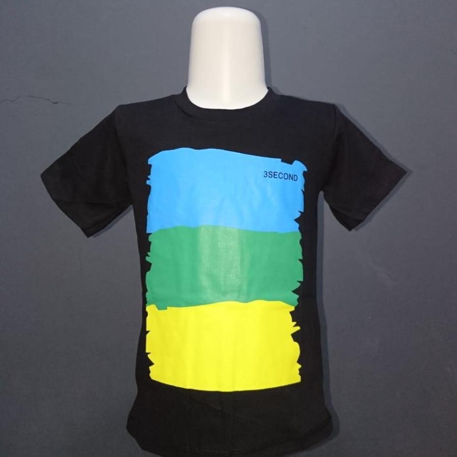 Kaos/baju Anak Distro 3second By Syariah Online Store.