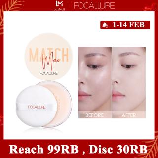 FOCALLURE Matte loose powder oil control keep all day face powder FA154 thumbnail