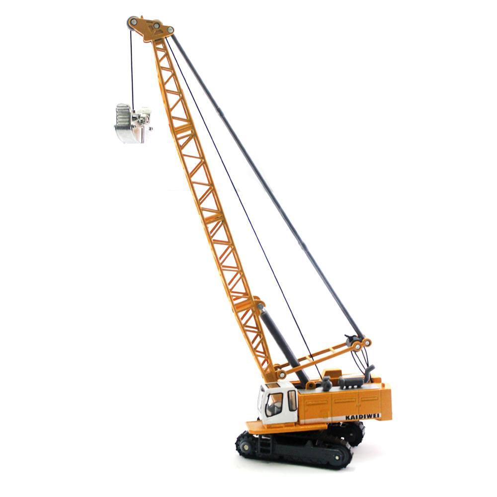 Diecast Miniatur Alat Berat Metal Machine Cable Excavator