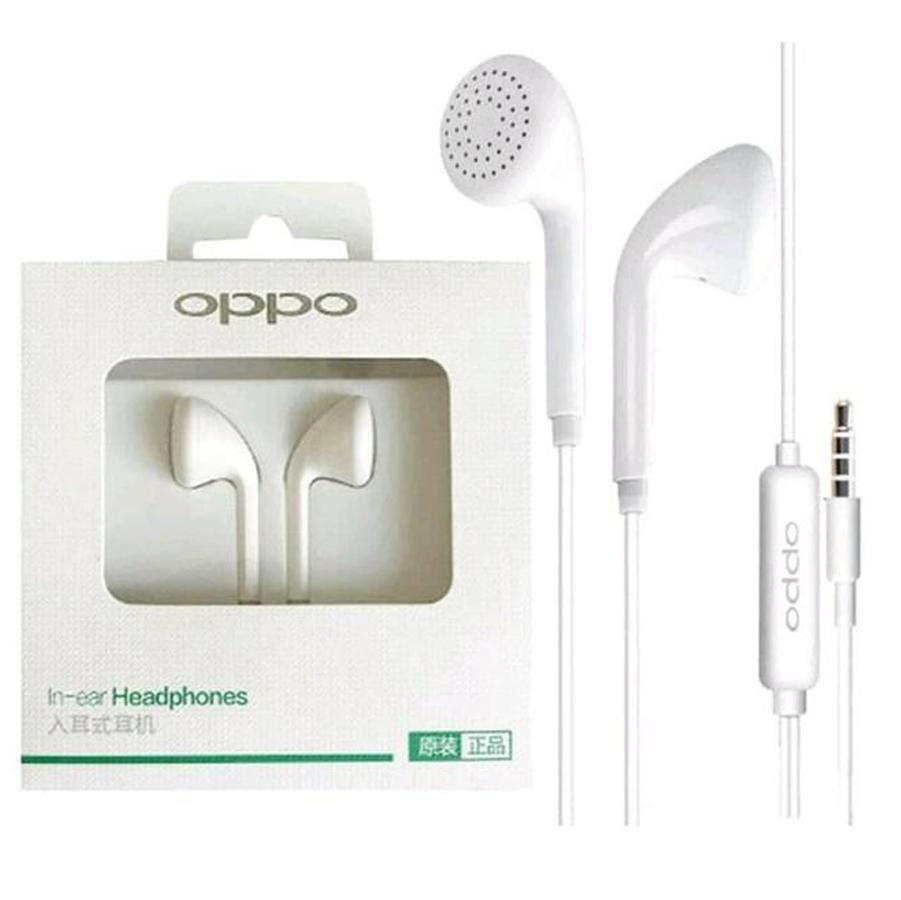 Headset Oppo Universal Jack 3.5mm Original 100%