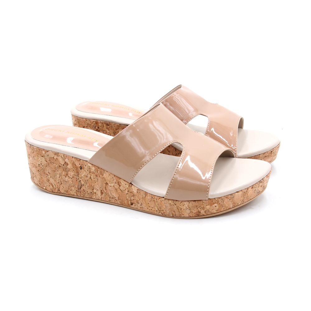 YONGKI KOMALADI WEDGES - HDB6-28L CREAM