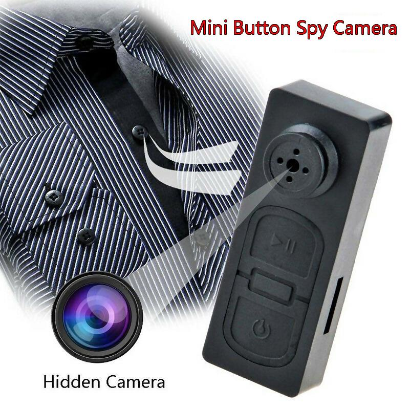 AutumBin S918 HD Mini Button Camera Hidden Pinhole Digital Video Recorder  Secret Camcorder Detector Eavesdrop DVR