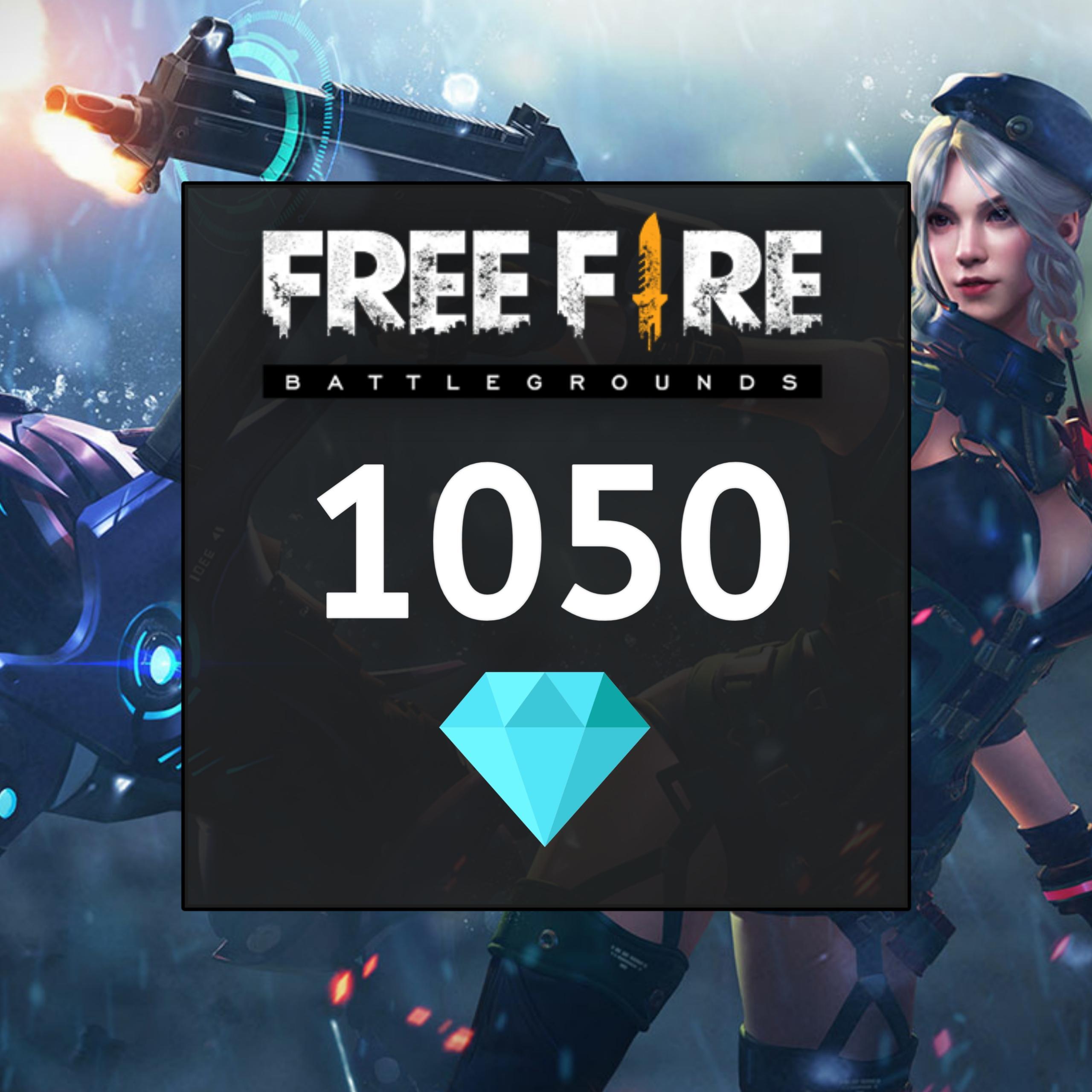 Top Up Garena Free Fire 1050 Diamonds [Via ID]