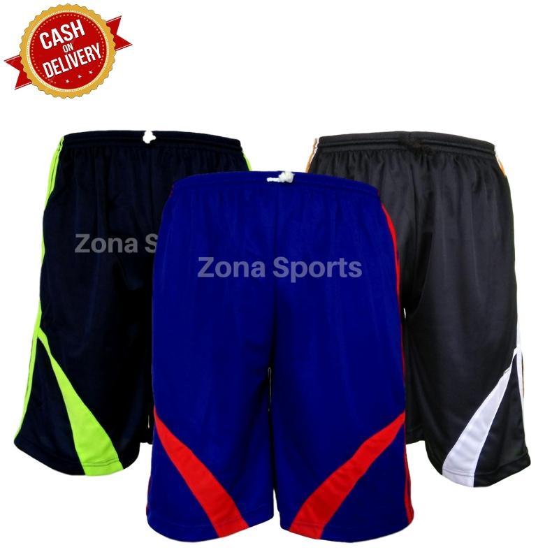 Dapat 3 Celana  Celana Pendek Pria Olahraga Zona Sports   Celana Training  Pendek   02ed0ce67d