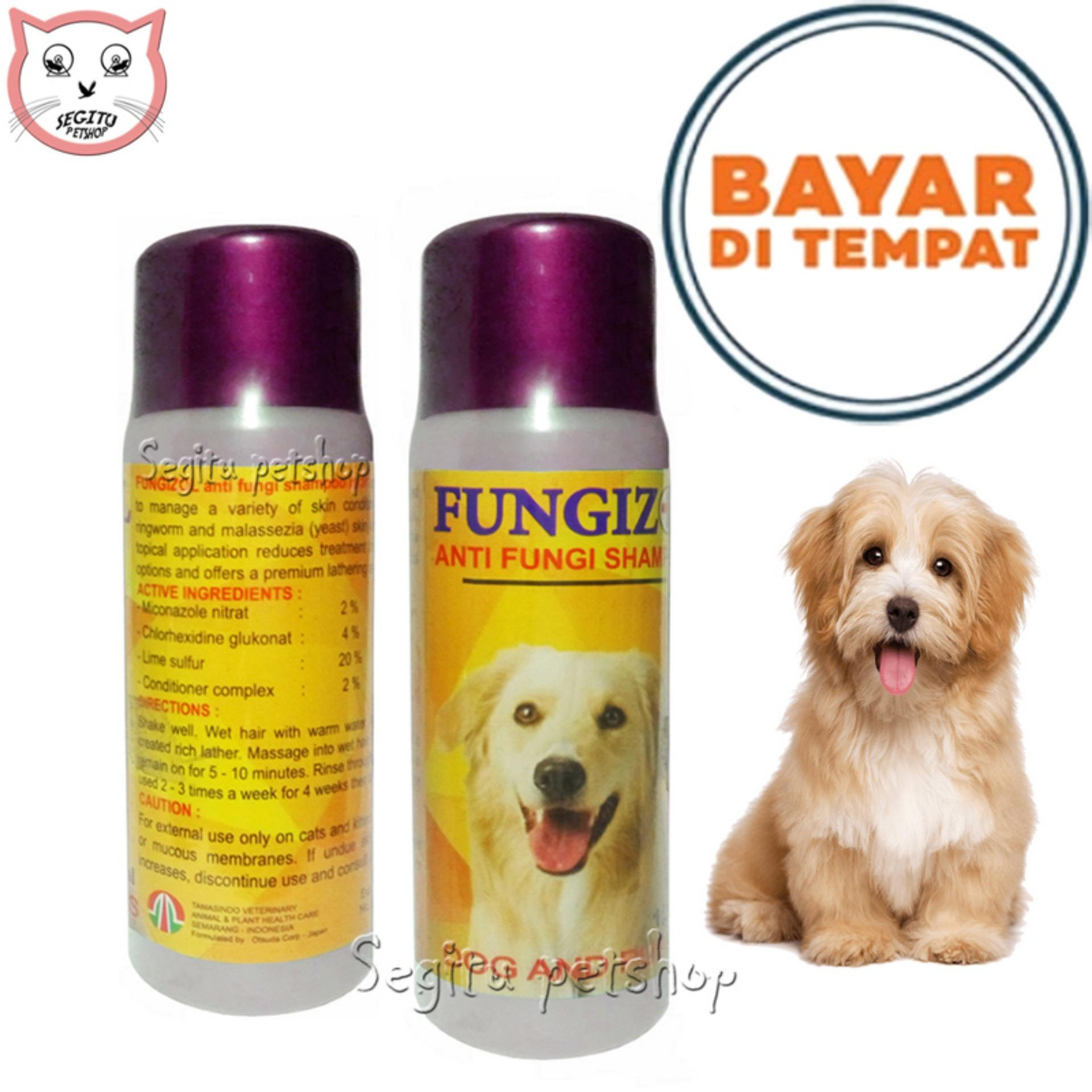 Shampo Anjing Anti Jamur Sampo Scabies Fungizol Dog By Segitu Petshop Jayanti.