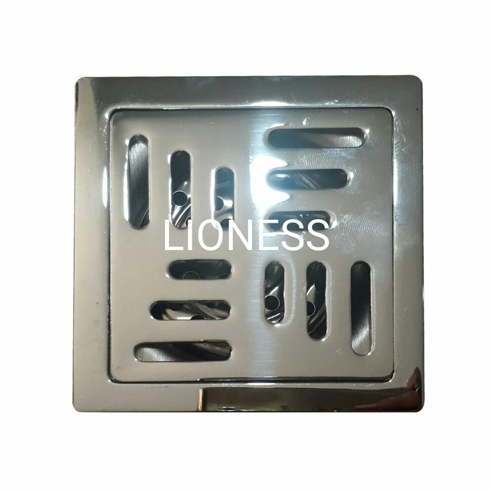 Saringan Got Kotak Tebal Floor Drain Anti Kecoa Anti Bau By Lioness.