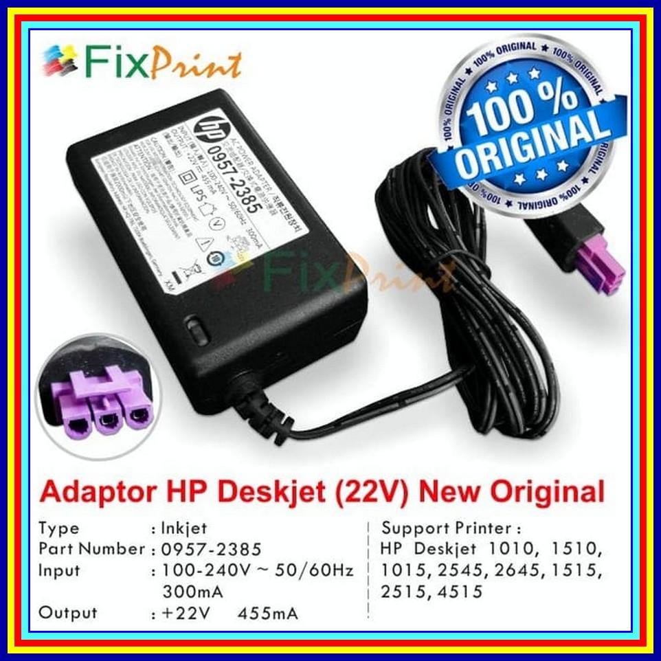 Adaptor Printer HP Deskjet 1515 2515 2545 4515 Kode 0957-2385 Original