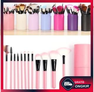 Gratis Ongkir - Alat Make Up 12 Kuas Make Up Tools Brush Kosmetik Make up Set thumbnail