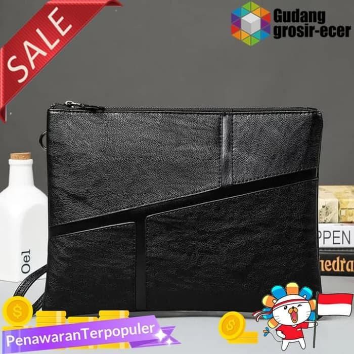 Tas Clutch Kulit Tas Dompet Tangan Tas Vape Premium Handbag