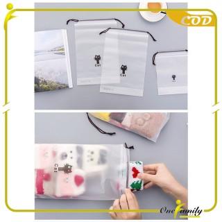 ONE-C33 Travel Pouch Organizer Bag Serbaguna Tempat Penyimpanan Alat Make Up Tas Serut Kosmetik thumbnail