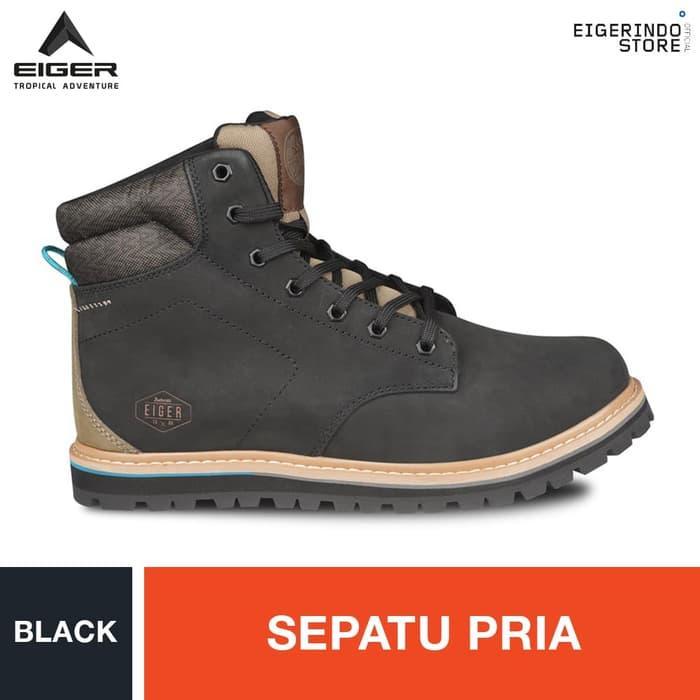Eiger 1989 Dauerhaft Shoes - Black - Hitam b5af529fe5
