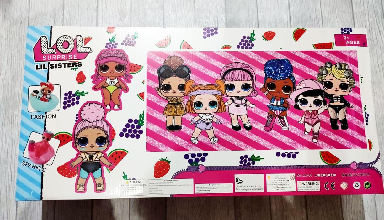Bh Premium Lol Barbie Surprise Ukuran Besar Mainan Edukasi Anak Perempuan Permainan Boneka Berbi Doll Kado Hadiah Ulang Tahun Anak Anak Cewek Cewe
