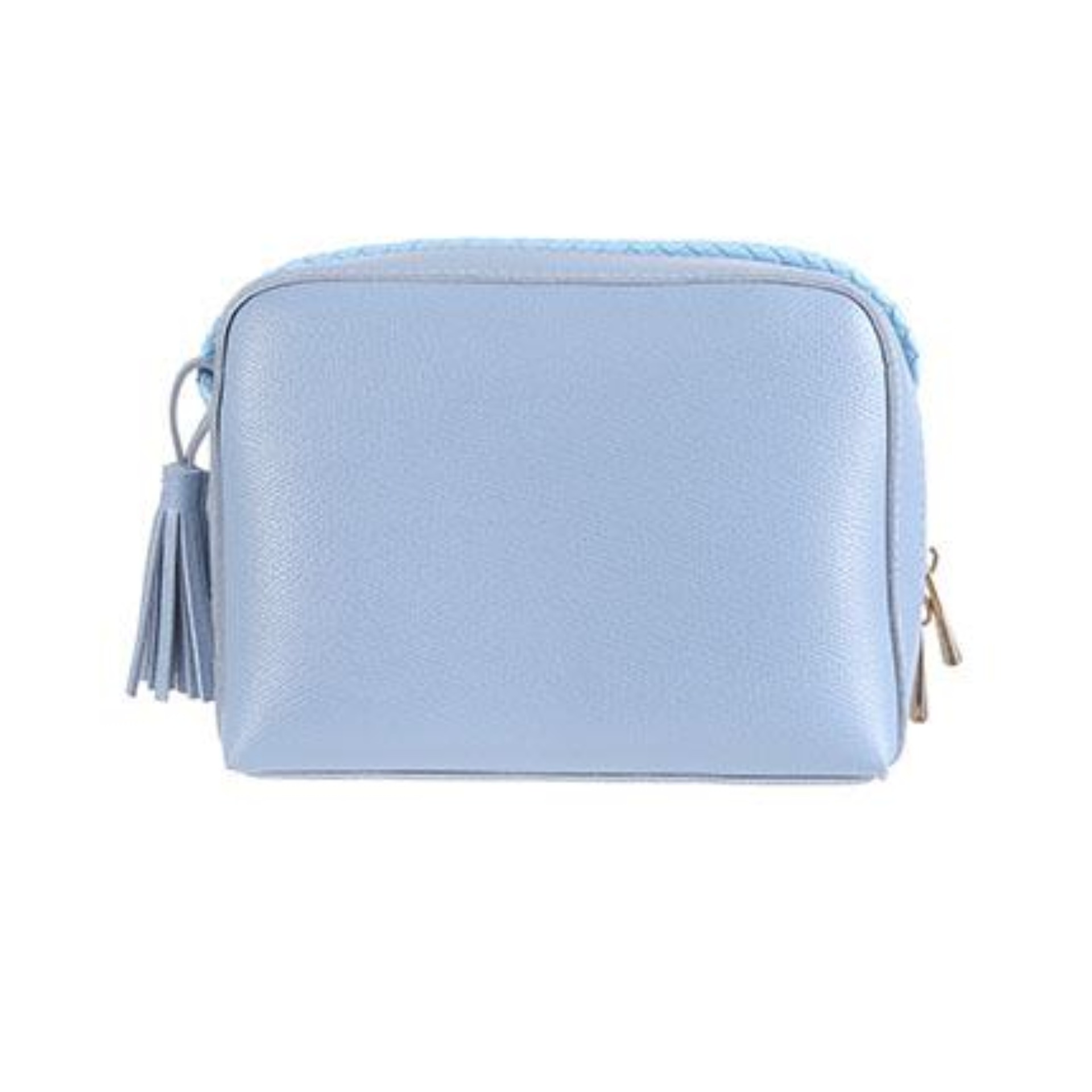 Miniso Tas Selempang Solid Color Rectangle Crossbody Bag Biru