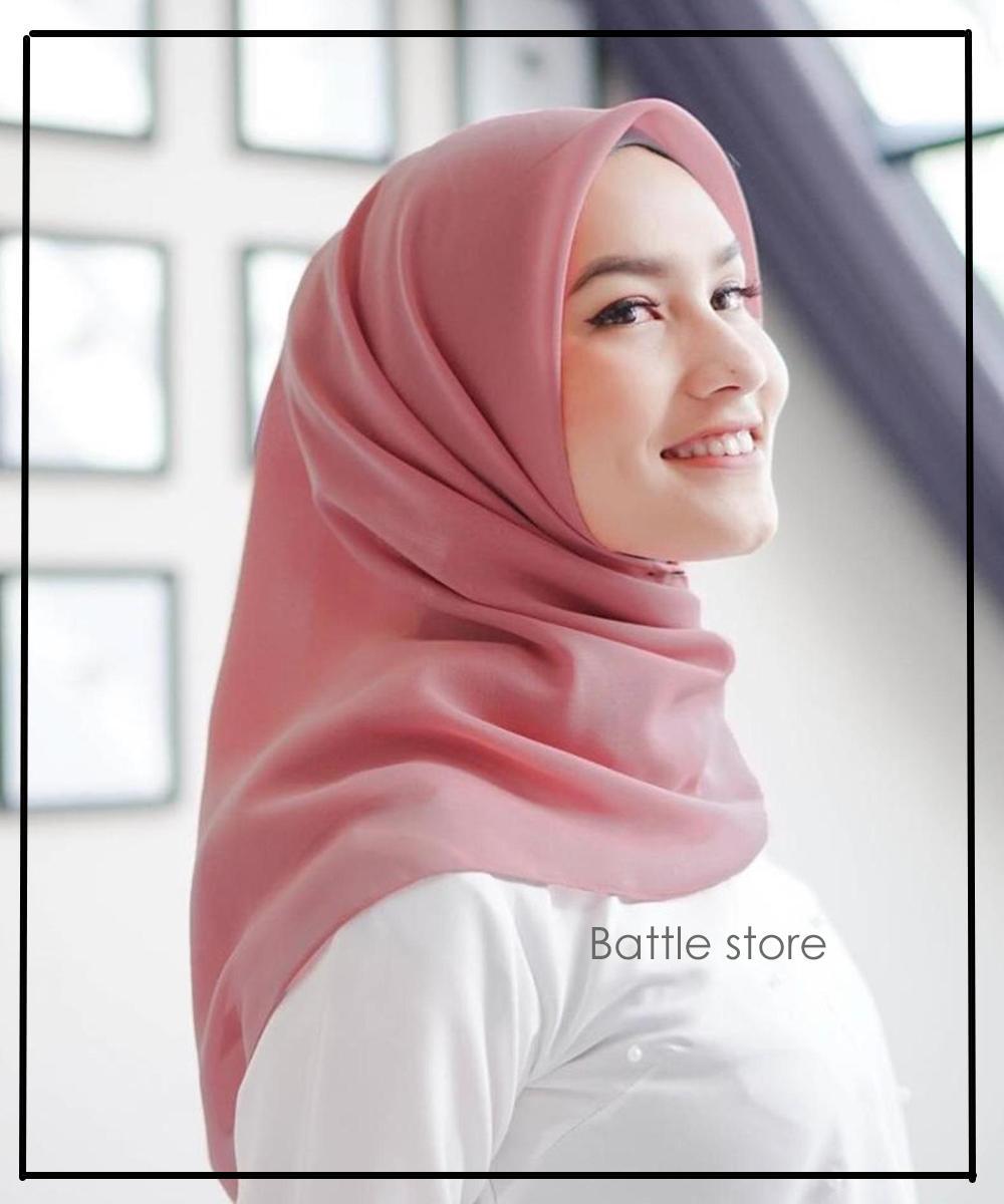 Hijab Bahan Voal Polos 78