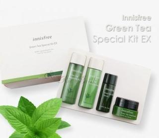 (NEW) INNISFREE - Green Tea Special Kit EX (4 Items) ORIGINAL Double Squeezed thumbnail
