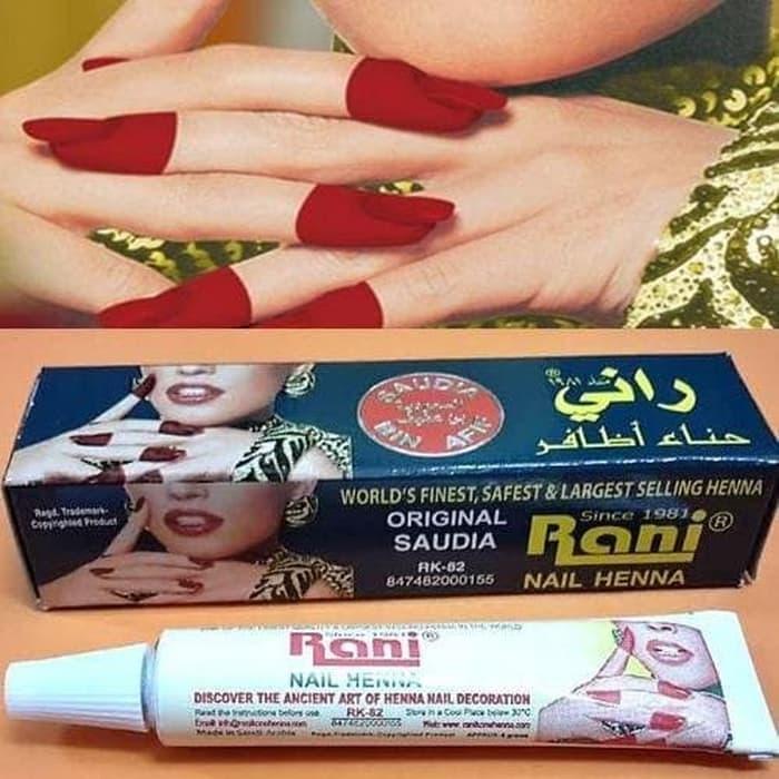 Rani Nail Henna Pacar kuku, Oleh-Oleh Haji Umroh (RNP002) Bazar Tanah Abang