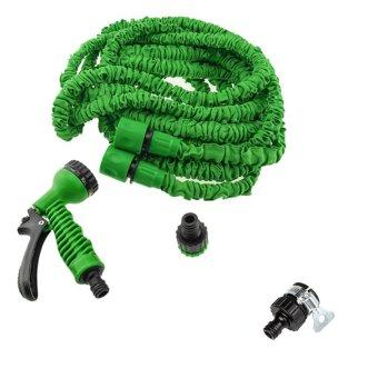 Magic X-hose Auto Expandable 15 m - Selang Air Fleksibel Bundling Universal Konektor -