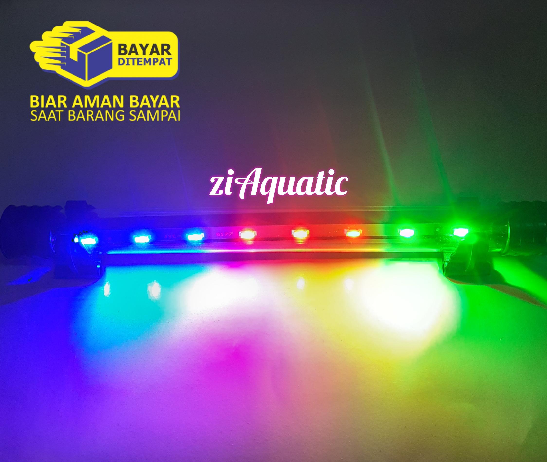 Lampu celup aquarium 26cm LED 3 warna RGB ASP-T4-30LED
