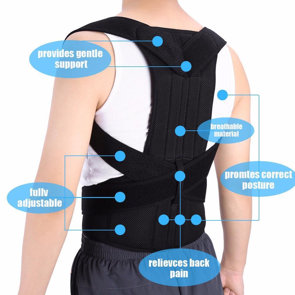 Teenager Adjustable Posture Corrector Brace